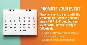 Promoting your event on TAPinto Madison is easy and affordable!