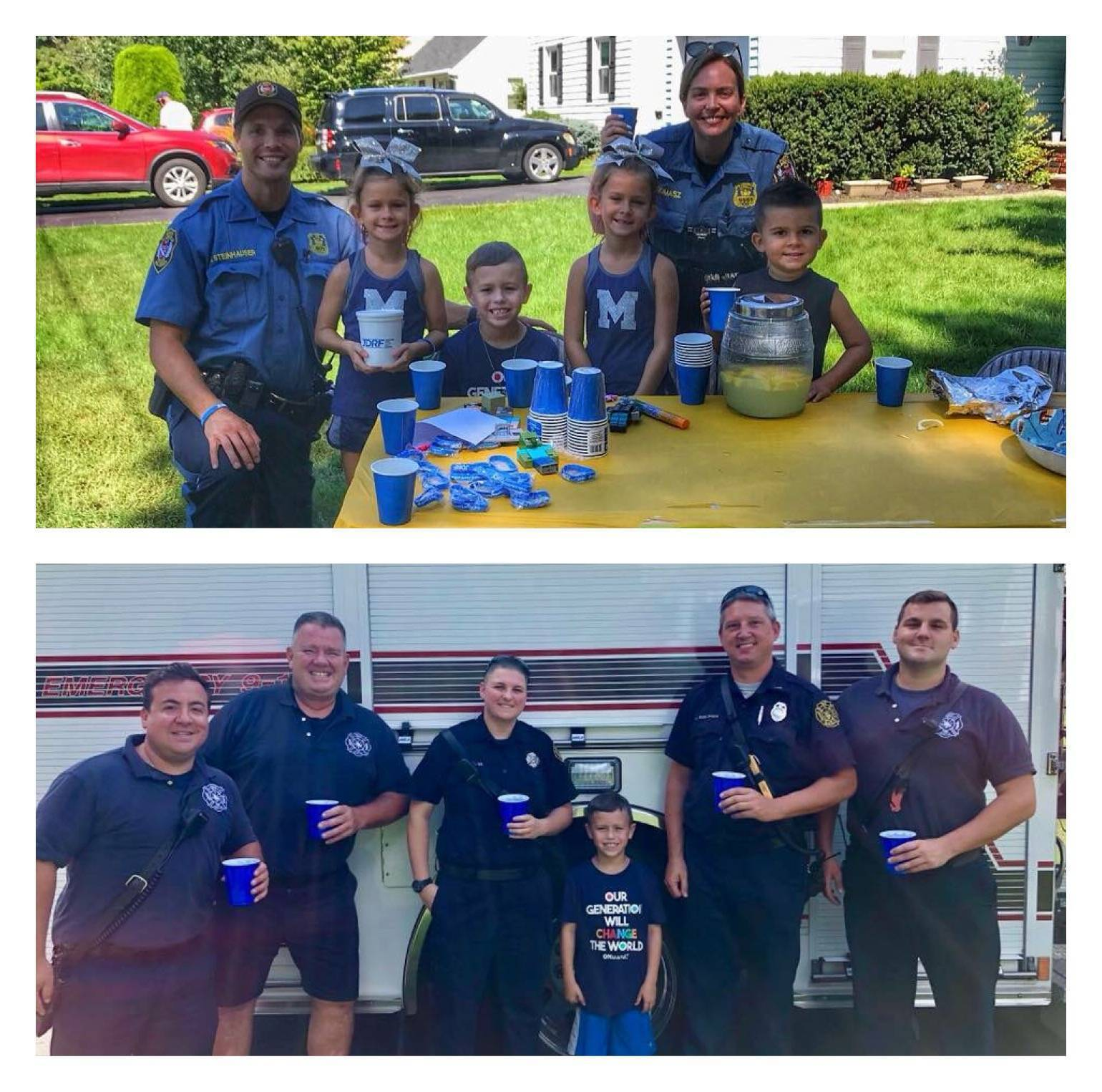 North Plainfield 8-Year Old Holds Lemonade Stand to Raise Funds for Juvenile Diabetes Research