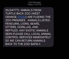 Turtle Back Zoo and Local Officials Confirm Rumor of Escaped Animals is a Hoax