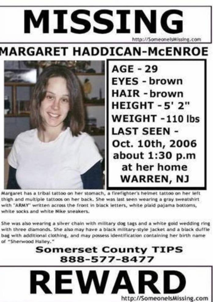 Missing Person: Margaret Haddican-McEnroe Still Missing in Warren 37DD4506-3B70-45CB-BB04-F3027D7C332A.jpeg