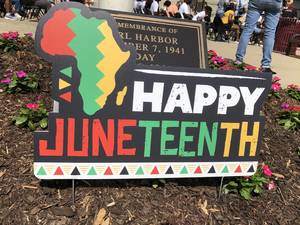 Bloomfield Celebrates 156th Anniversary of Juneteenth