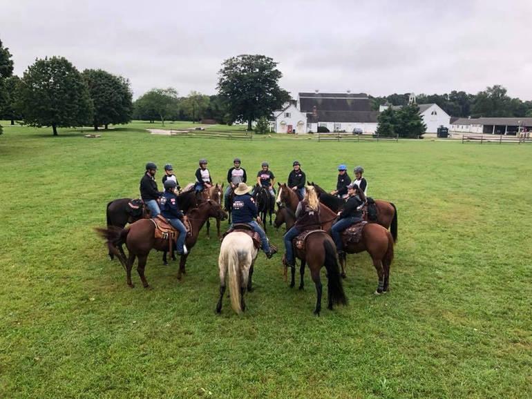 Veterans Ride Horses Through New York City To Raise Awareness Of Suicide