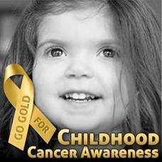 'Go Gold' for Childhood Cancer Awareness Month; Brooke Healey Foundation Makes a Difference