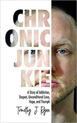 NJ Author of 'Chronic Junkie' will be featured in upcoming WABC Special; Timothy Ryan Shares his Story of Addiction
