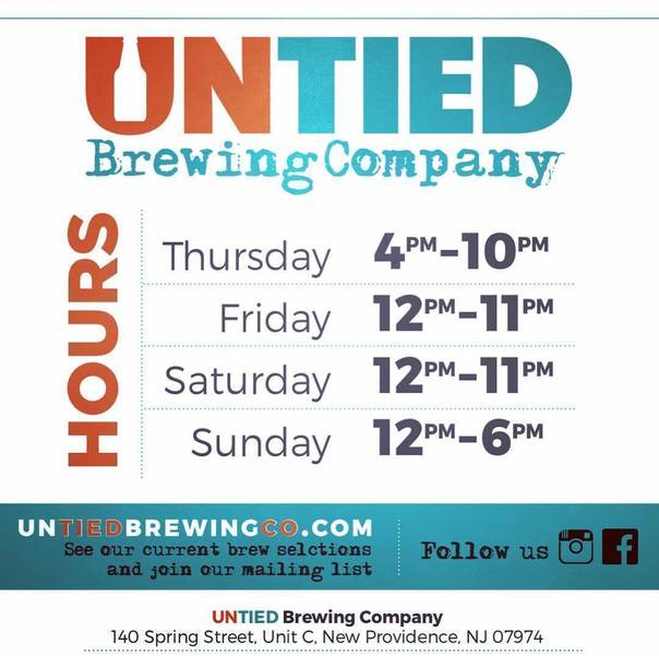 Untied Brewing Company Opens Its Doors To The Public Saturday Jan