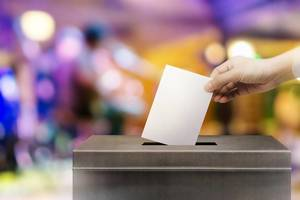 Voting, Ballot