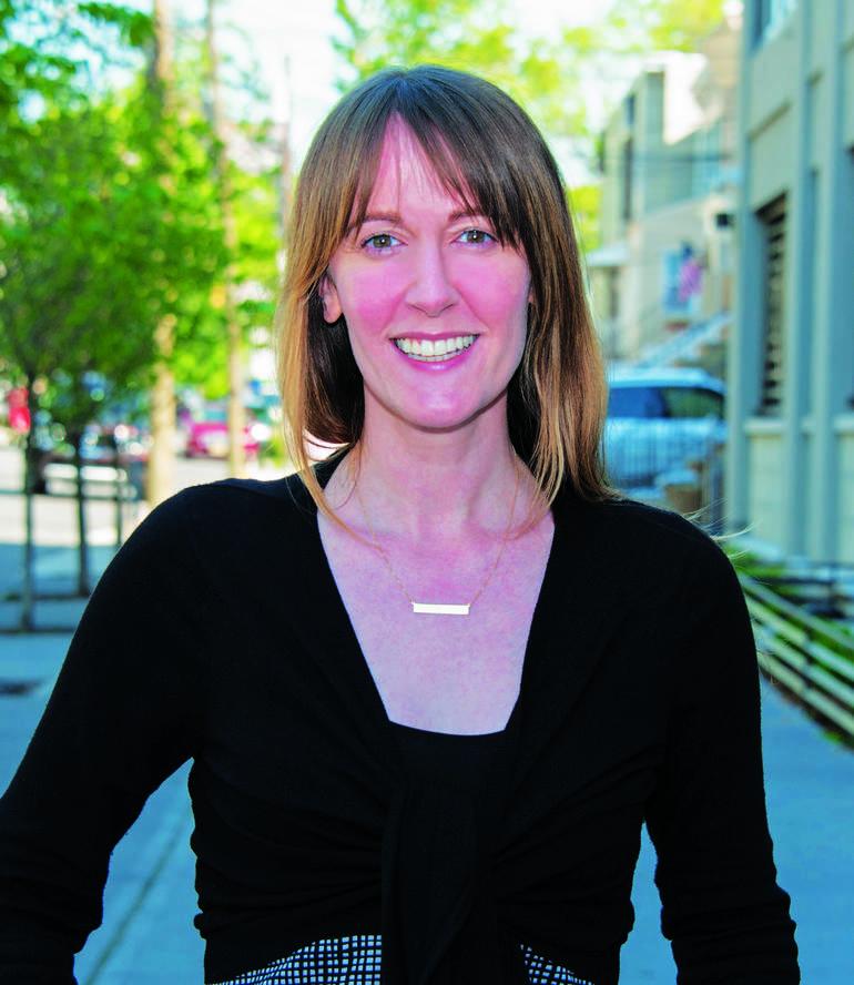Hudson County Democratic Organization Chairwoman Amy DeGise