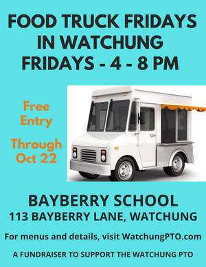 Watchung Food Truck Fridays Roll On