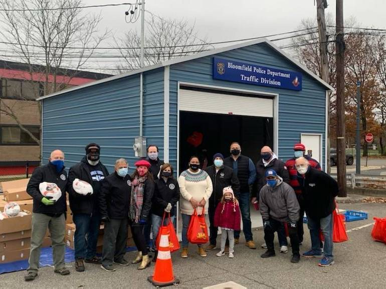 Mayor Venezia's 5th Annual Turkey Drive Feeds over 800 Families in Bloomfield
