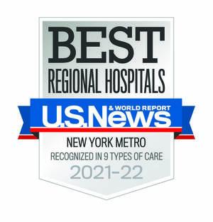 U.S. News & World Report Names Robert Wood Johnson University Hospital Among Best in New Jersey and New York Metropolitan Area