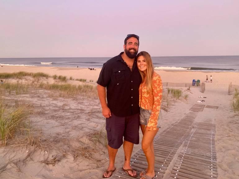 Rob and Wife Nikki on LBI