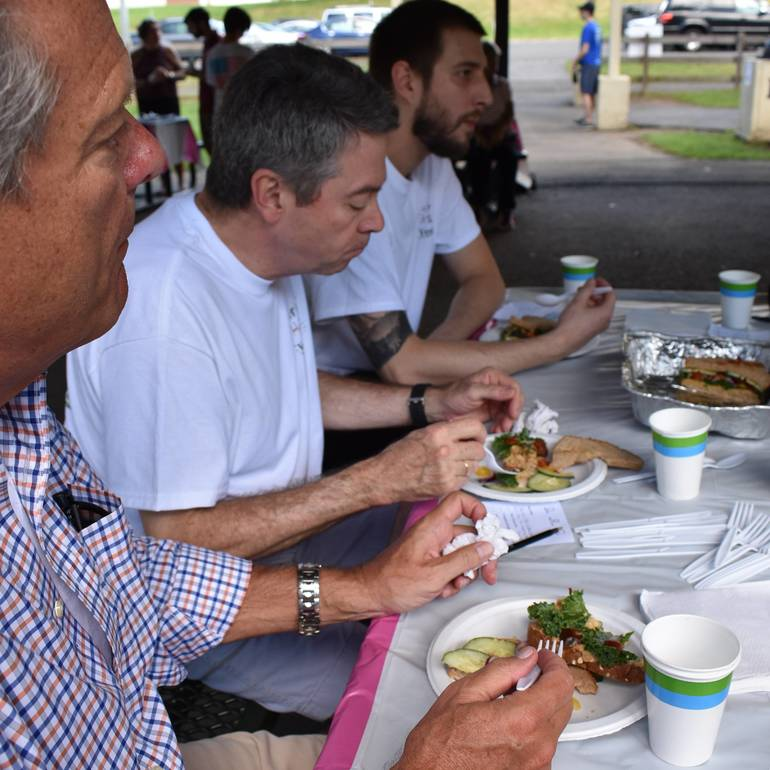Vegan Fest Cook Off Wraps Up Weekend in a Tasty Fashion