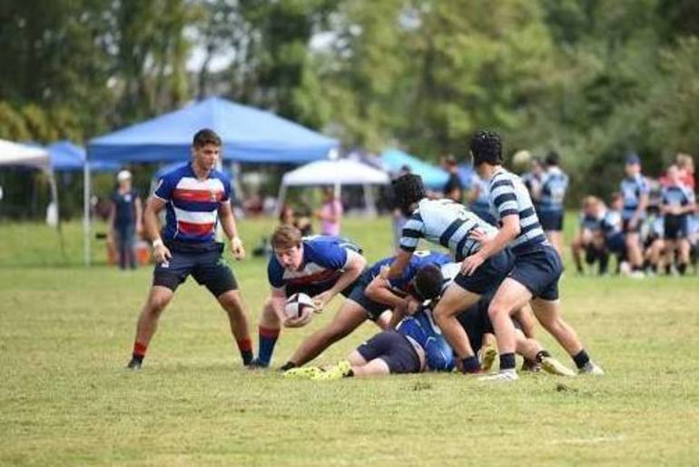 youth tackle flag rugby