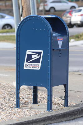 USPS Post Office Mailbox Mail