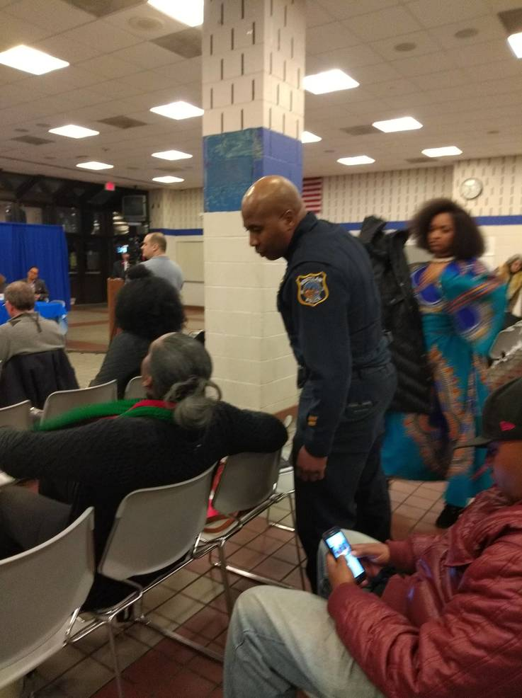Officers at Montclair Board Meeting? Police Officials Respond