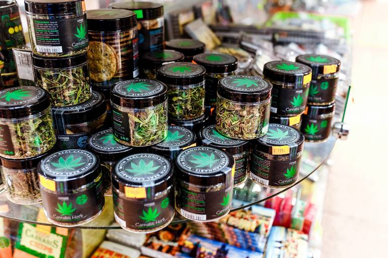 Marijuana Products in Store