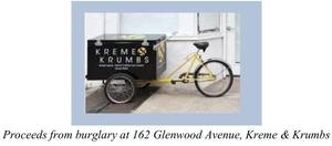 Ice Cream Cart Stolen from Bloomfield Shop at 3AM