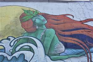 Mermaid Arrives in Rahway, Anticipating Upcoming RiverFest