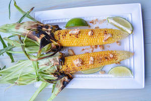 Summer Recipe: Grilled Jersey Corn with Garlic Chili Butter and Lime