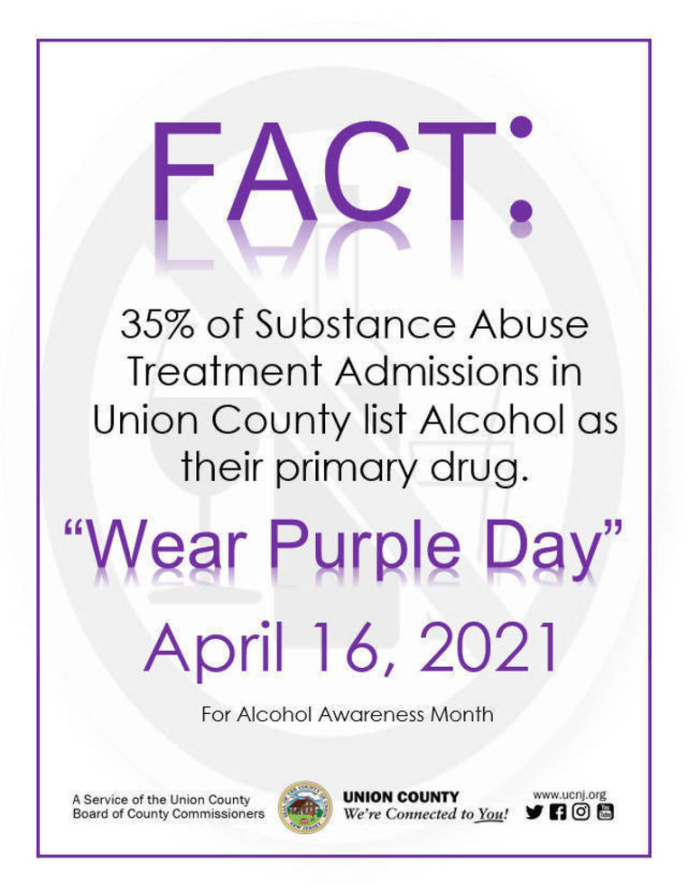 Union County Commissioner Board Raises Awareness Regarding Alcoholism