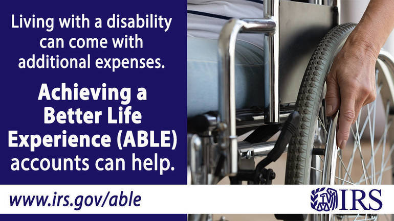 ABLE accounts are a valuable benefit for taxpayers with disabilities