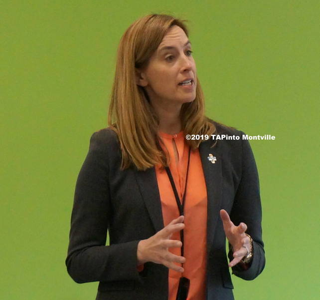 a Congresswoman Mikie Sherrill speaks to students at MTHS ©2019 TAPinto Montville  2.JPG