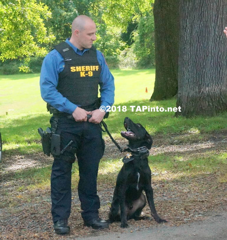 a Det. Michael Carbone and Boomer ©2018 TAPInto Montville.JPG