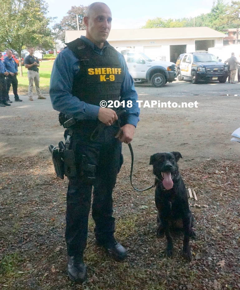 a Det. Michael Carbone and Boomer ©2018 TAPInto Montville      3.JPG