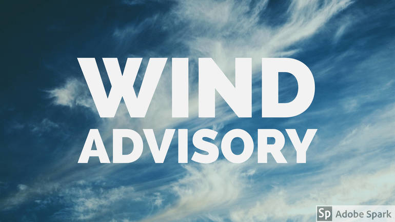 High Wind Advisory in Effect for Local Area