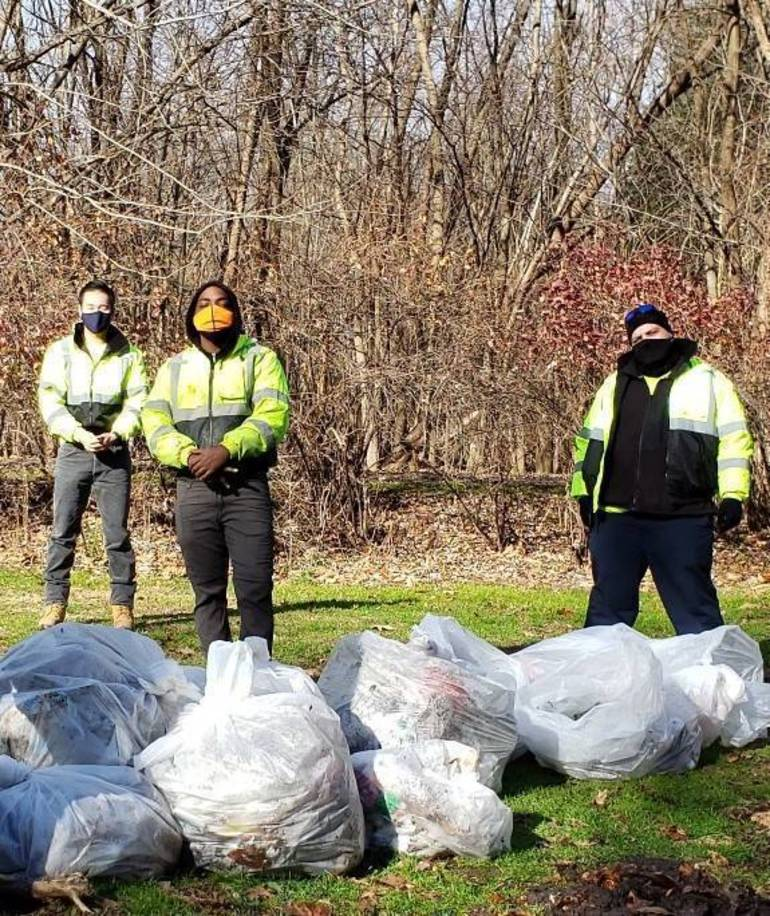 """Two Union County Parks Get Spruced Up through the """"Adopt-a-Park"""" Volunteer Program"""