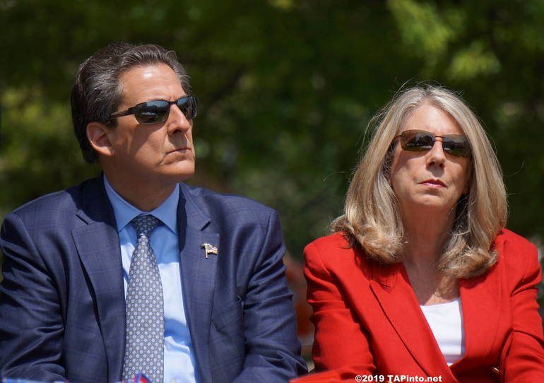 a Freeholders Stephen Shaw and Deb Smith ©2019 TAPinto Montville.JPG