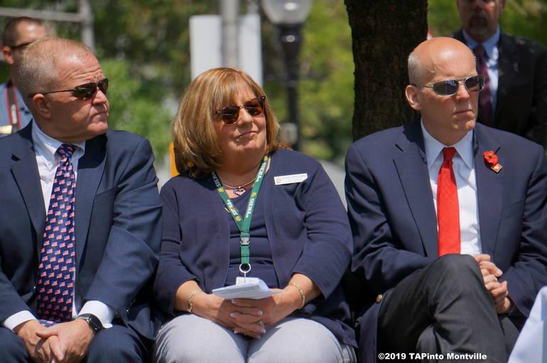 a Freeholders Doug Cabana, Kathy DeFillippo and John Krickus ©2019 TAPinto Montville.JPG