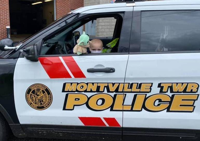 "Five-Year-Old is NJ Town's ""Police Chief"" for a Day"