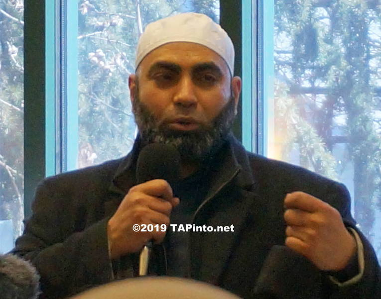a Imam Adel Almorsi of Islamic Center of Morris County ©2019 TAPinto.net Melissa Benno.JPG