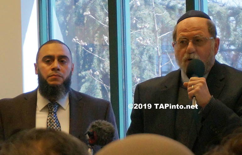 a Imam Lesley LeBron and Rabbi Mark Finkel of the PBJC ©2019 TAPinto.net.JPG
