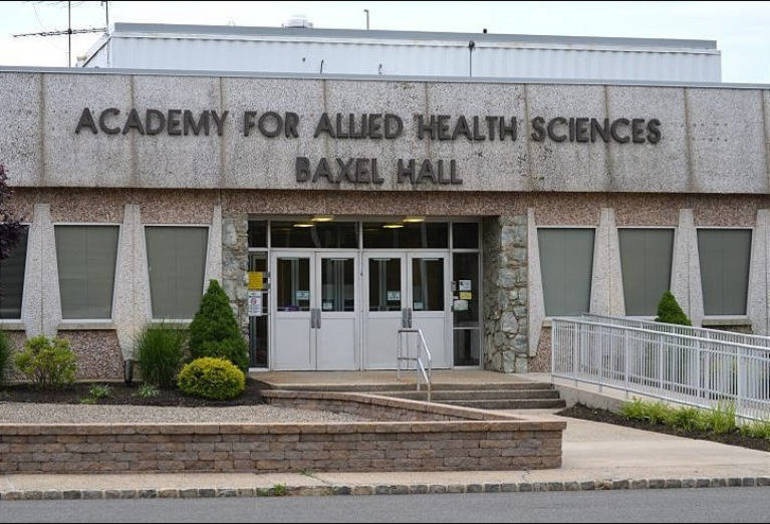 Academy for Allied Health Sciences on Raritan Road in Scotch Plains