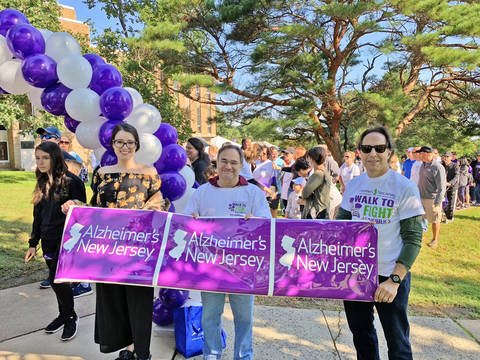 Alzheimer's New Jersey® to Host Walk at the College of St