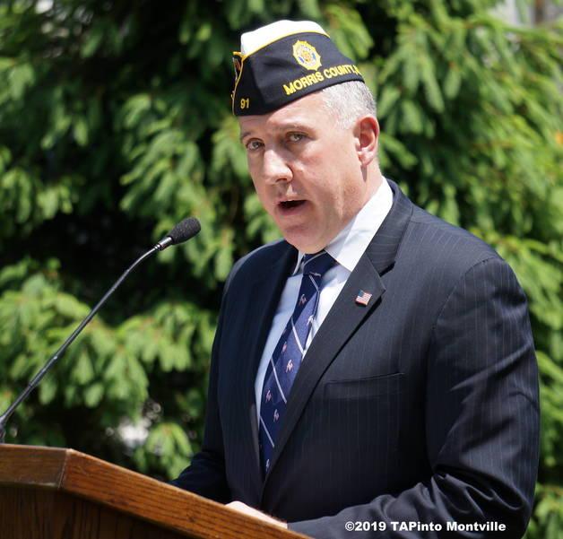 a Morris County American Legion Commander Amery Vasso ©2019 TAPinto Montville.JPG