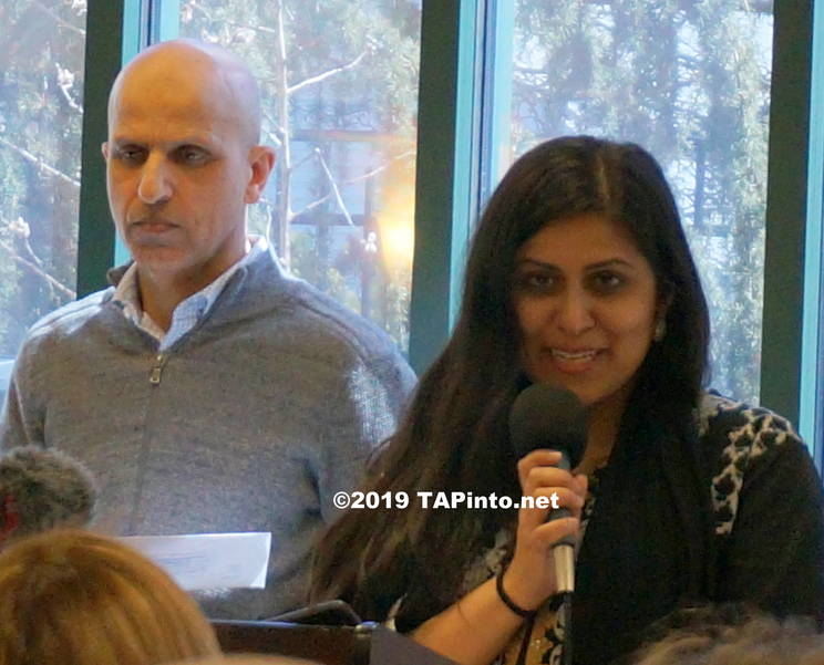 a Mayor Sadaf Jaffer of Montgomery, the first female Muslim mayor ©2019 TAPinto.net Melissa Benno.JPG