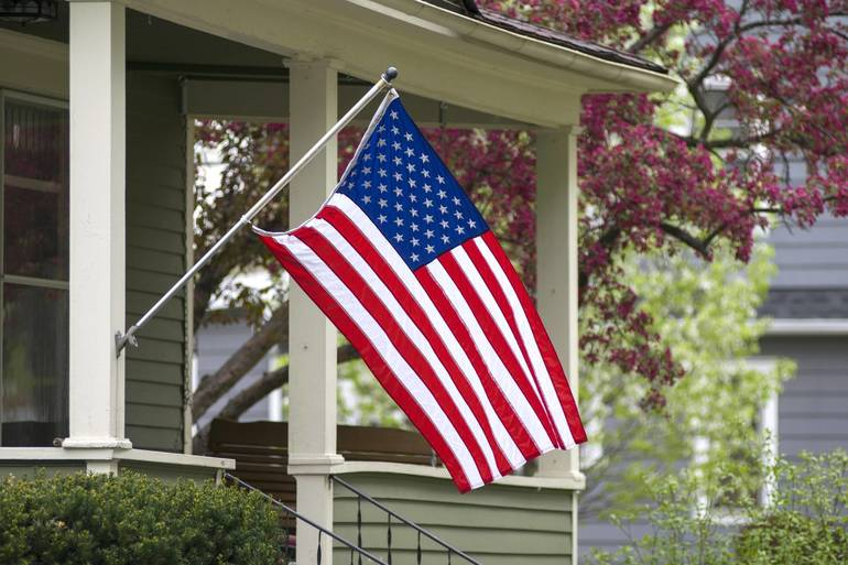 In Honor of July 4, Flags Return to Full Staff