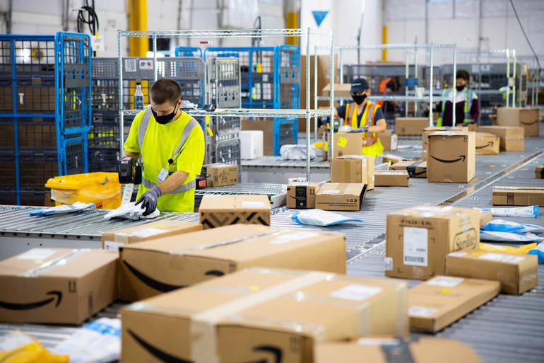 Amazon to Call Bordentown Home for New Delivery Station