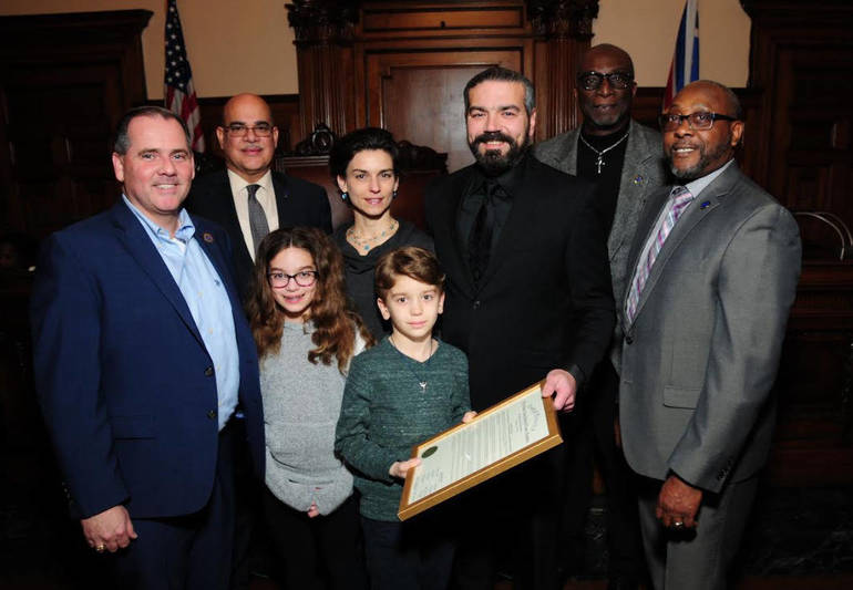 Essex County Freeholders Honor Bloomfield Resident Tom Ryan for his Accomplishments in the Independent Film Industry