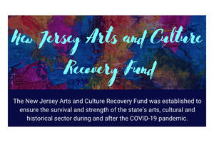 New Fund launched to Help New Jersey's Arts and Culture Industry Survive COVID-19