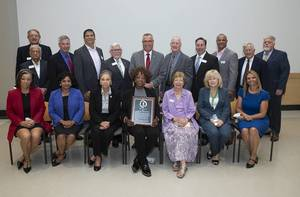 Late County Commissioner Armwood Receives Middlesex College's Highest Honor
