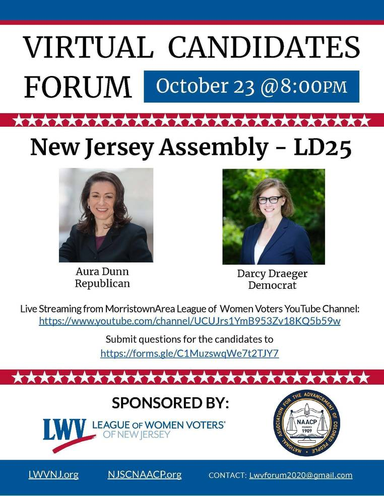 Legislative District 25 Assembly Candidate Forum