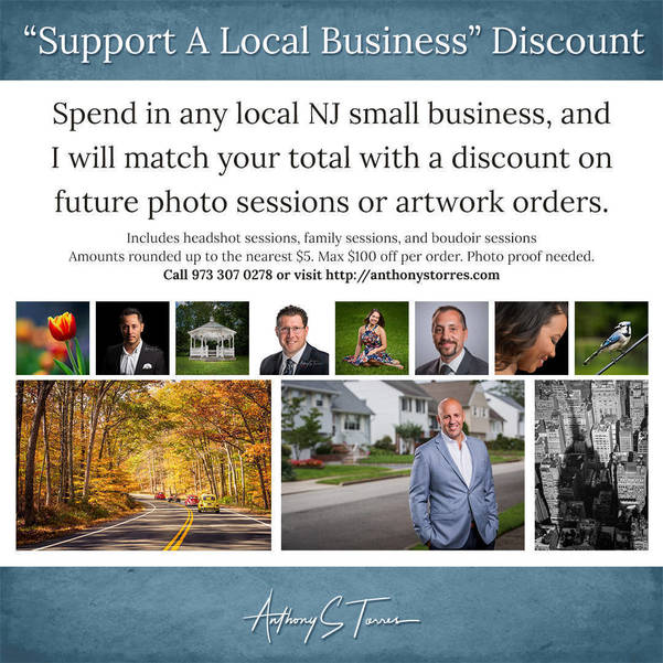 Spend in NJ Local - Get Matching Discount