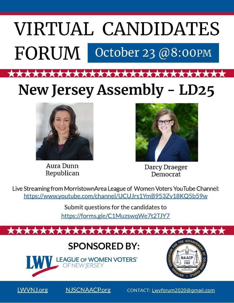 Legislative District 25 Assembly Candidate Forum