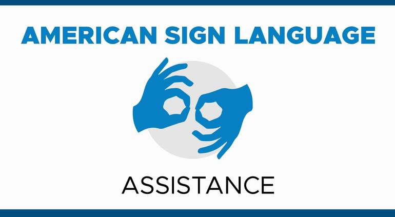 American Sign Language Interpreters Available at COVID-19 Vaccine Megasites