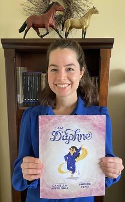 """I Am Daphne"" Daniella Appolonia, local author"