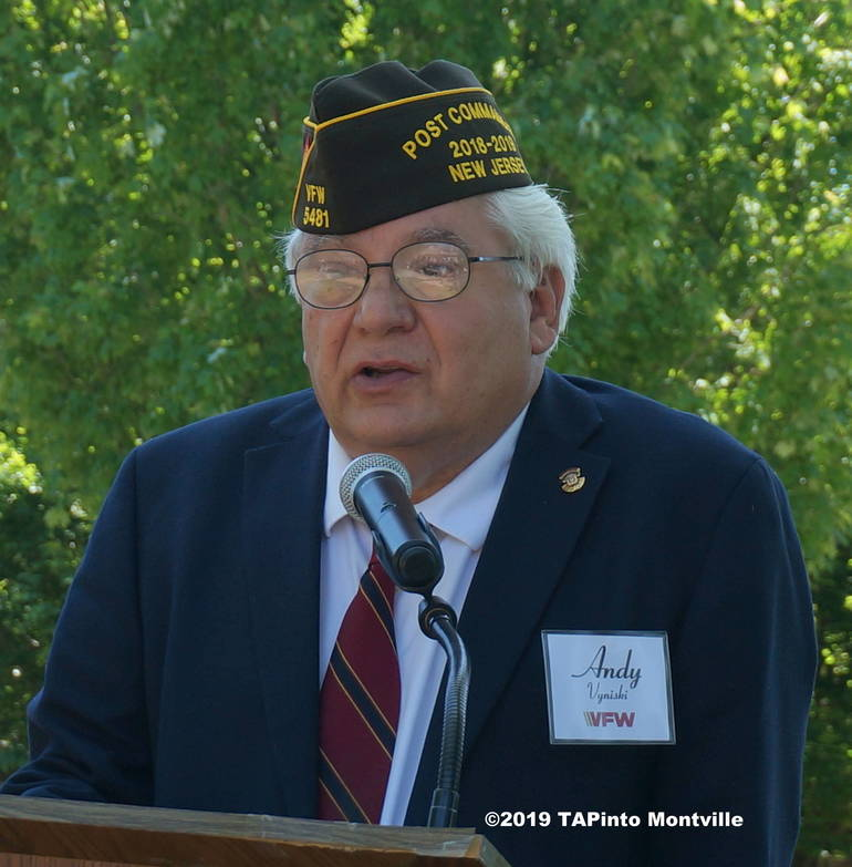 a VFW Post 5481 Commander Andy Vyniskil ©2019 TAPinto Montville.JPG